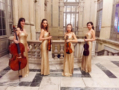 String quartet for events, female string quartet