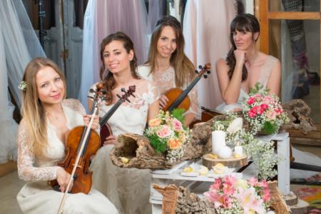 Quartetto archi per matrimoni, quartetto matrimonio, band matrimonio, musica matrimonio