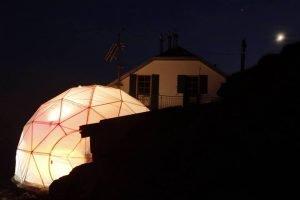 rifugio Brioschi cupola