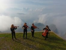 Concert at 2410 m – Refuge Brioschi