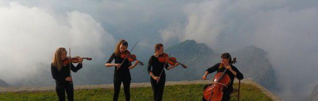 Concerto ad alta quota: Rifugio Brioschi, 2410 m