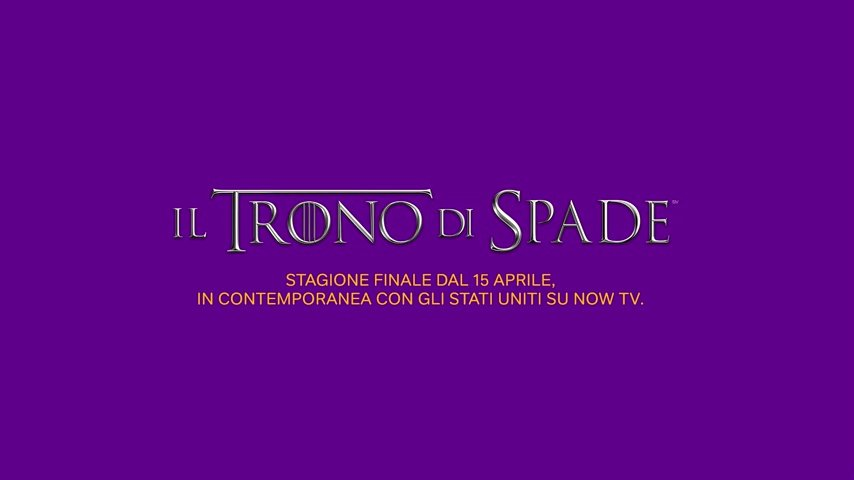 Il Trono di spade, Game of Thrones, Now tv