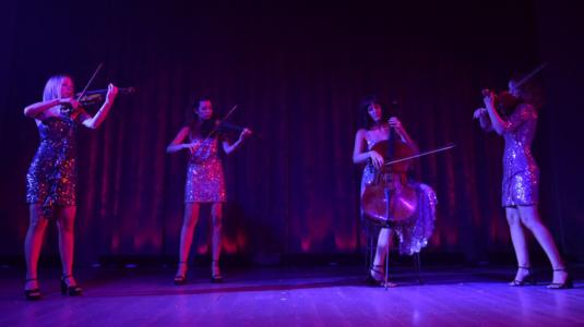 show string quartet, luxury event